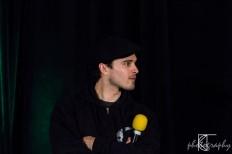 Michael Malarkey, plays Enzo