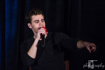 Paul Wesley, plays Stefan Salvatore