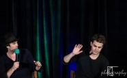 Ian Somerhalder, plays Damon Salvatore; Paul Wesley, plays Stefan Salvatore